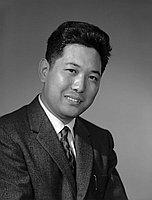 [Mr. Sato publicity photo, head and shoulder portrait, Los Angeles, California, June 21, 1961]