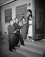 [Dollar for Democrats with Assemblyman Elliott and Art Takei, California, September 26, 1961]