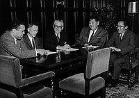 [Planning for White House Regional Conference at Old California State Building, California, November 14, 1961]
