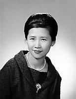 [Mrs. Kim, International Institute social worker, head and shoulder portrait, California, November 30, 1961]