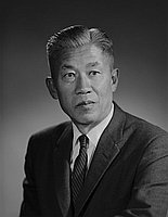 [Taro Kanow, retired civil engineer of County of Los Angeles Road department, head and shoulder portrait, Los Angeles, California, December 12, 1961]