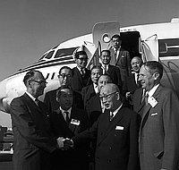 [Mayors of Japan visiting California, May 13, 1962]