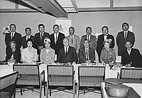 [Republican Citizens Committee to re-elect Congressman Gordon L. MacDonough at Eigiku restaurant, Los Angeles, California, September 1962]