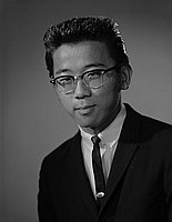 [Paul Nakamura, head and shoulder portait, Los Angeles, California, June 1, 1963]