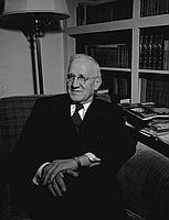 [Reverend E. Stanley Jones, seated portrait, November 29, 1950]