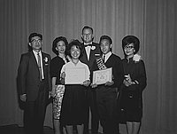 [Griffith Junior High School awards program, Los Angeles, California, June 14, 1963]