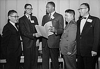 [President's Committee on Equal Employment Opportunity at Ambassador Hotel, Los Angeles, California, November 14, 1963]