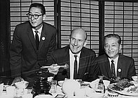 [Japanese American Committee for Cranston for Senate reception honoring Alan Cranston at New Ginza, Los Angeles, California, May 14, 1964]