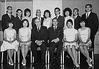 [Japanese Chamber of Commerce scholarship award winners at Statler Hilton Hotel, Los Angeles, California, June 17, 1964]