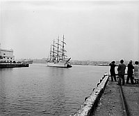 [Kaiwo Maru at San Pedro Harbor, California, June 24, 1964]