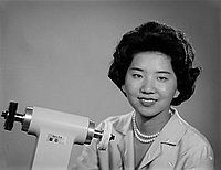 [Miss Sugawara from Japan, Los Angeles, California, June 25, 1964]