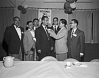 [Second annual JACL Clinic at International Institute, Los Angeles, California, ca. 1950-1964]