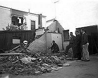 [Storm damage at Maryknoll School, Los Angeles, California, ca. 1950-1964]