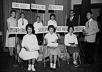 [Student Council of Berendo Junior High School, Los Angeles, California, June 9, 1960]