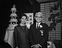 [Celebration for Fred Wada at New Ginza, Los Angeles, California, February 10, 1965]