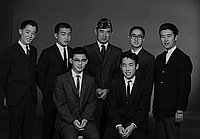 [Boys State delegates of the Commodore Perry Post 525, Los Angeles, California, May 1, 1965]