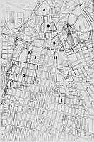 [Map of downtown Los Angeles, California, 1965]