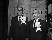 [Goro Sawada and Goro Chikaraishi of Mitsubishi International Company, California, January 1967]
