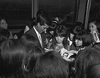 [Yuzo Kayama at Los Angeles International Airport, Los Angeles, California, March 17, 1967]