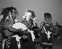 [Odori Festival of Japan troupe at Music Center and City Hall, Los Angeles, California, July 31, 1967]