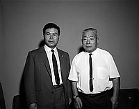 [Mr. Kobayashi Mr. Nagano, Los Angeles, California, August 16, 1967]