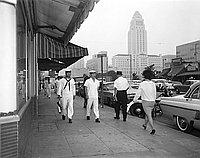 [Japanese Navy sailors, Los Angeles, California, September 30, 1967]