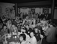 [Crown City Optimist Club dinner at Man Jen Low restaurant, Los Angeles, California, December 18, 1967]