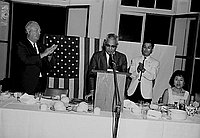 [Welcome party for Consul General Kanji Takasugi at Tokyo Kaikan, Los Angeles, California, 1967]