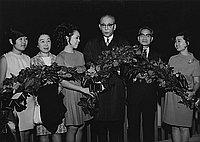 [New Toho President, Tatsuo Matsuoka, California, March 28, 1968]