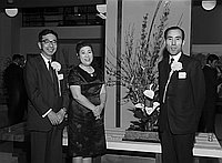 [Farewell cocktail party for manager of Japan Trade Center, California, March 28, 1968]