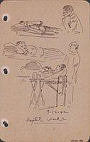 Hospital ward 2, 9-12-42
