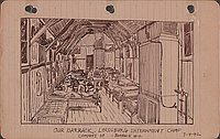 Our barrack : Lordsburg internment camp, company D, barrack #4, 7-4-42