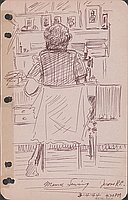Mama sewing, Jerome R.C., 3-4-44, 4:20 PM