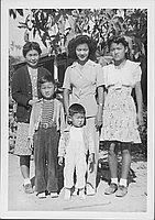 [Family of five, Rohwer, Arkansas, 1942-1945]