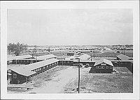 [Bird's eye view of compound, Rohwer, Arkansas, 1942-1945]