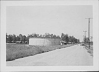 [Water tank, Rohwer, Arkansas, 1942-1945]
