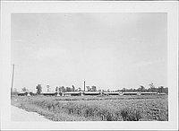 [Barracks and field, Rohwer, Arkansas, 1942-1945]