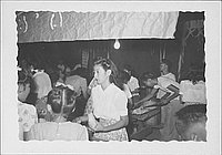 [Woman in mess hall, Rohwer, Arkansas, July 8, 1944]