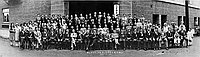 [Fifth North American Young Men and Women's Buddhist Association, Los Angeles Hompa Hongwanji Buddhist Temple, California, April 13, 1930]