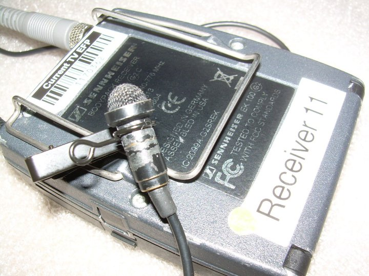 Lavalier Mic from Current TV series