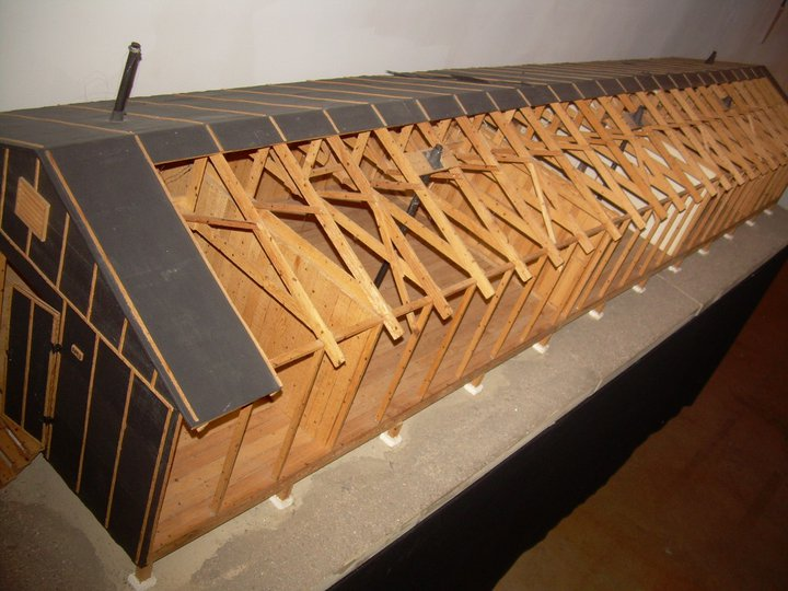Robert Hasuike Manzanar barrack model