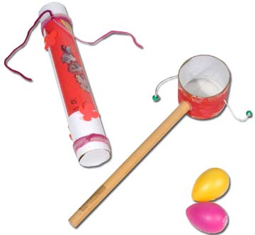 percussion making activities for kids big drum