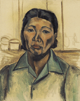 'Study for a Self-Portait, c. 1944'.