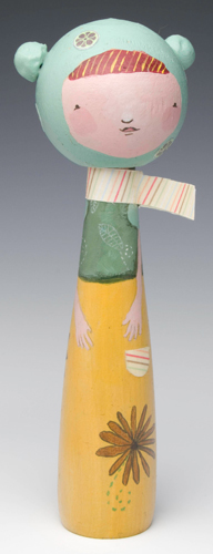 Kokeshi by Annie Wilkinson