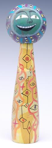 Kokeshi #2 by Calef Brown