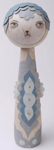 Paper Folklore Kokeshi by Camilla Engman
