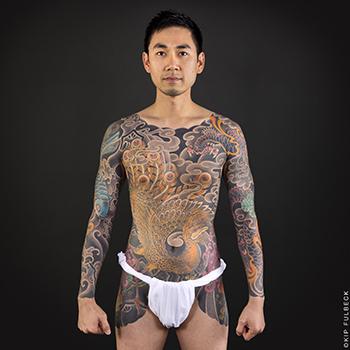 Tattoo by Chris Horishiki Brand