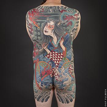 Tattoo by Horitomo