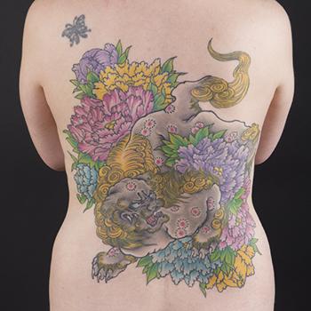 Tattoo by Yokohama Horiken