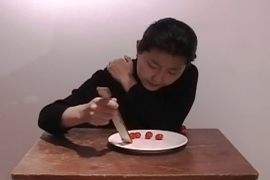 EATING (SELF-PORTRAIT) (2006) by Hye Yeon Nam